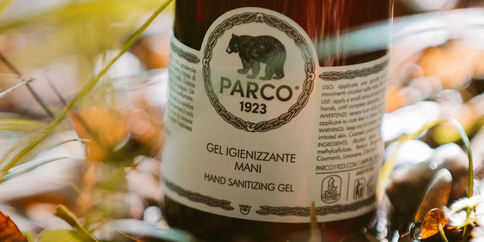 Gel igienizzante - Parco 1923 - home